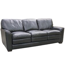 Sacramento Top Grain Leather Sofa, Loveseat and Chair Set (Set of 3)