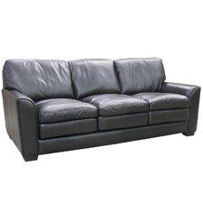 Sacramento Top Grain Leather Sofa and 2 Chairs Set (Set of 3)