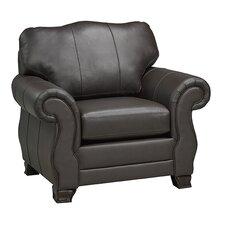 Huntington Italian Leather Arm Chair