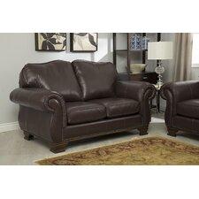 Fairfield Italian Leather Loveseat
