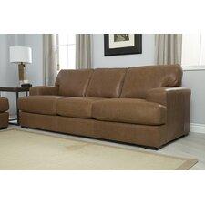 Flora Top Grain Leather Sofa