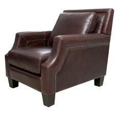 Salem Italian Leather Arm Chair