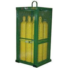 """85"""" H x 32"""" W x 32"""" D Cylinder Storage Cabinet"""