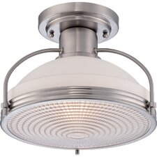1 Light Semi-Flush Mount