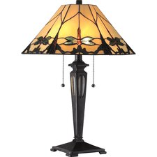 "Summer Dragonfly 21.5"" H Table Lamp with Empire Shade"