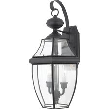 Newbury 2 Light Wall Lantern
