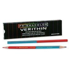 Color Pencil, 12/DZ, Red/Blue