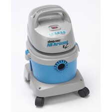 AllAround EZ 1.5 Gallon 2.0 Peak HP Wet / Dry Vacuum