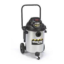 Right Stuff 10 Gallon 6.5 Peak HP Stainless Steel Wet / Dry Vacuum