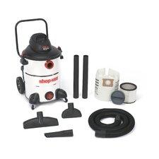 Stainless Steel Series 16 Gallon 6.5 Peak HP Wet / Dry Vacuum