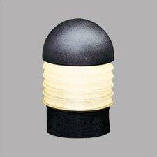 Bollard Path Light with Etched Glass