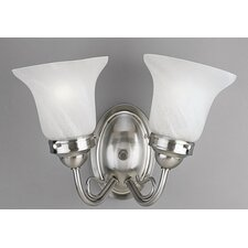 Bedford 2 Light Vanity Light