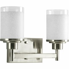 Alexa 2 Light Wall Bracket Vanity Light