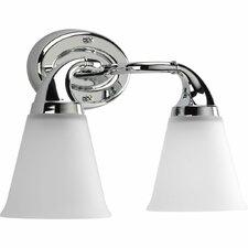 Lahara 2 Light Bath Vanity Light