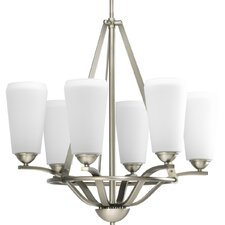 6 Light Moments Chandelier