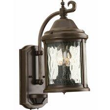 Ashmore 2 Light Outdoor Wall Lantern with Motion Sensor