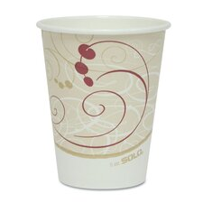 Company Symphony Design Hot Cups, 8 Oz., 50/Pack