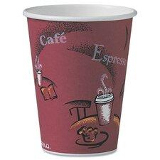 Company Bistro Design Hot Drink Cups, 12 Oz., 300/Carton