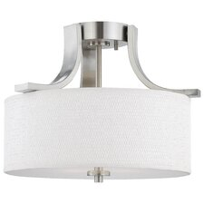 Pendenza 2 Light Semi Flush Mount