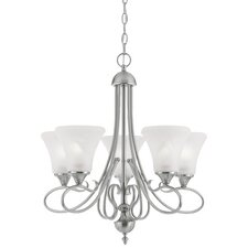 Elipse 5 Light Chandelier