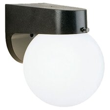 Plastic Outdoor 1 Light Sconce