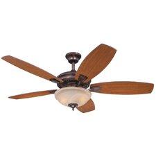 """52"""" Tulsa 5 Reversible Blade Ceiling Fan"""