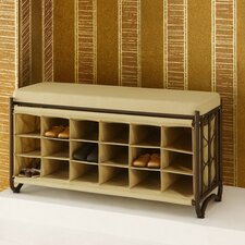 Metal Storage Bench