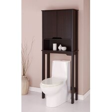 "Ambassador 25.88"" W x 67"" H Over The Toilet Spacesaver Cabinet"
