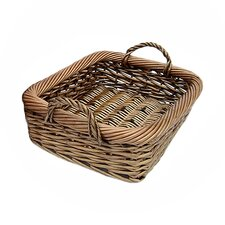 Rustic Willow Storage Tray