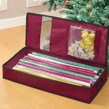 Christmas Wrapping Paper Organizer
