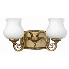 Olivia Vanity Light in Brushed Bronze