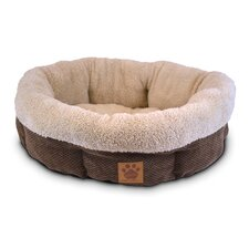 Natural Surroundings Shearling Dog Bed