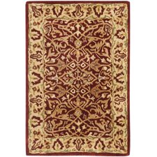Persian Legend Red/Light Yellow Area Rug