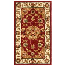 Traditions Red/Ivory Area Rug