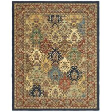 Heritage Multi & Burgundy Area Rug