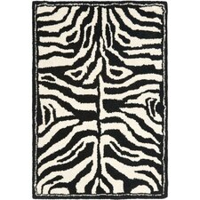 Soho Ivory/Black Area Rug