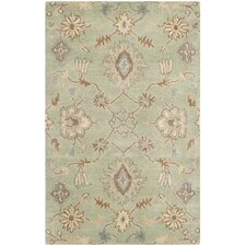 Wyndham Light Green Area Rug