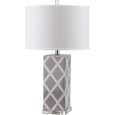 "Nantucket 27"" H Table Lamp with Drum Shade"