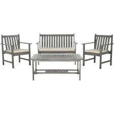 Burbank 4 Piece Seating Group with Cushions