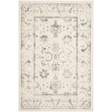 Porcello Ivory / Light Grey Oriental Rug