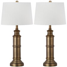 """Mariner 30.5"""" H Table Lamp with Empire Shade (Set of 2)"""