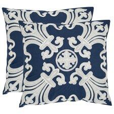 Margaret Cotton Throw Pillow (Set of 2)