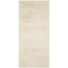 California Ivory Shag Area Rug