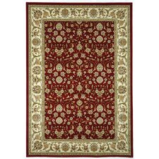 Lyndhurst Red/Ivory Area Rug