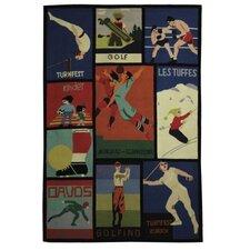Vintage Posters Novelty Rug