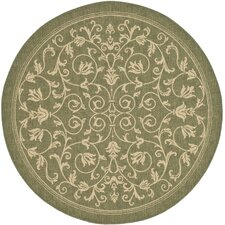 Courtyard Olive Outdoor Area Rug