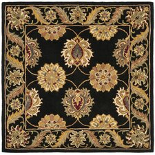 Heritage Black Area Rug