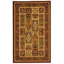 Lyndhurst Red Area Rug