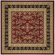 Lyndhurst Lianne Red/Black Area Rug