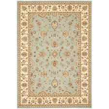 Majesty Light Blue/Cream Area Rug